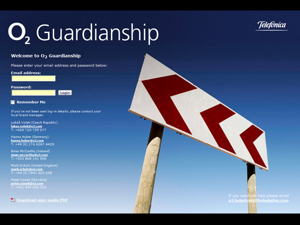 o2 guardianship screenshot